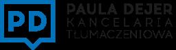 Logo - Kancelaria Tłumaczeniowa Paula Dejer